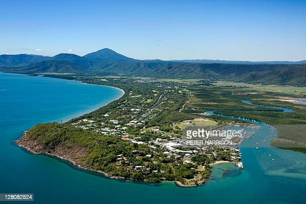 Aerial View of Port Douglas Marina, Queensland, Australia