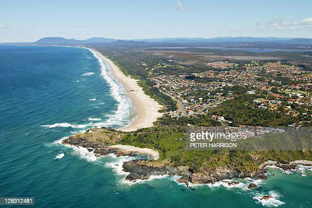 Aerial view of Port Macquarie, NSW, Australia