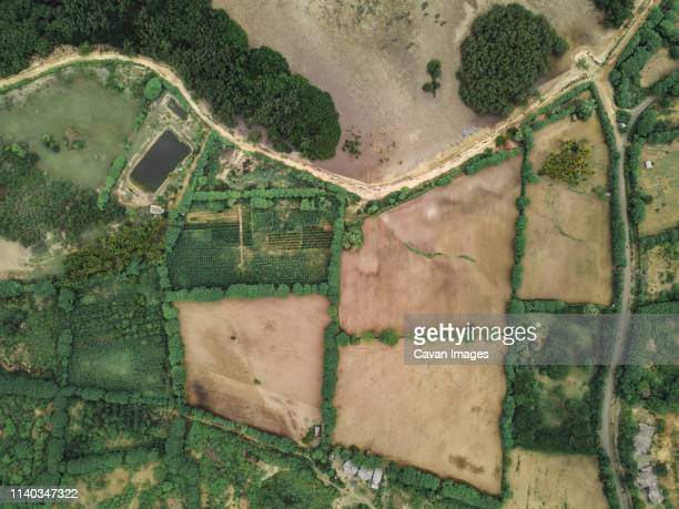 aerial view of road - southeast asia stock pictures, royalty-free photos & images