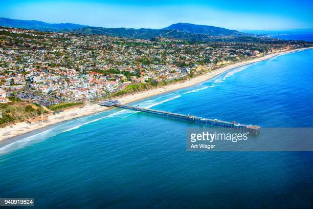 Aerial View of San Clemente California