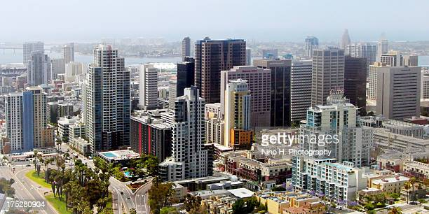 Aerial view of San Diego - California