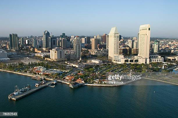 Aerial view of San Diego, California