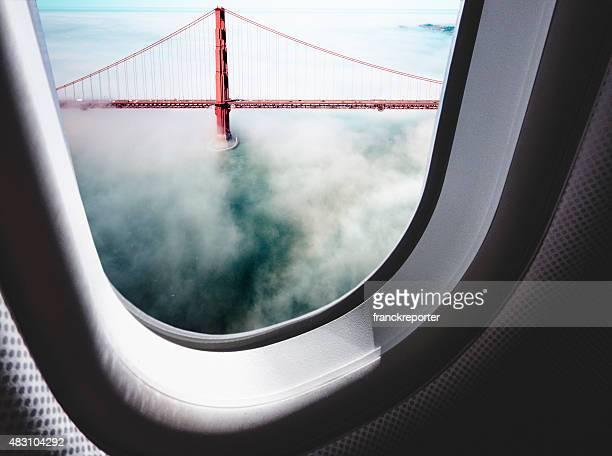 Vue aérienne du Golden Gate Bridge de San Francisco