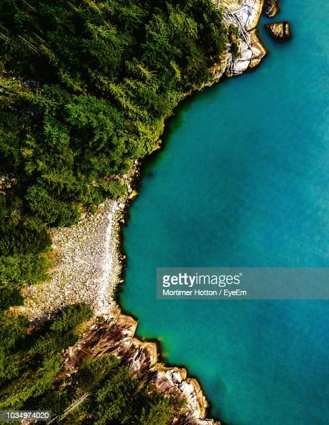aerial view of sea - vancouver canada stock pictures, royalty-free photos & images