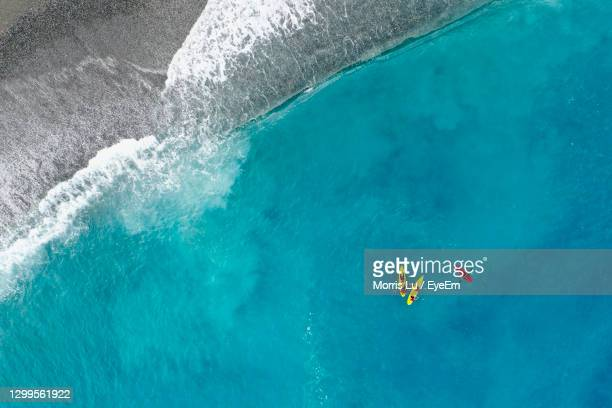 aerial view of sea - hualien county stock pictures, royalty-free photos & images