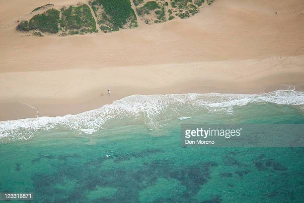 Aerial view of Sea view Beach, Port Elizabeth, Eastern Cape Province, South Africa