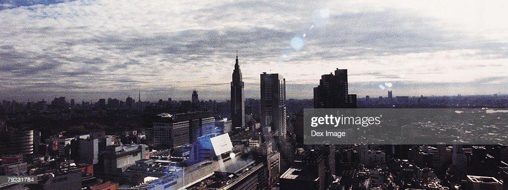 Aerial view of Shinjuku, Tokyo, Japan : Stock Photo
