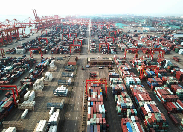 CHN: Shipping Containers At The Rizhao Port