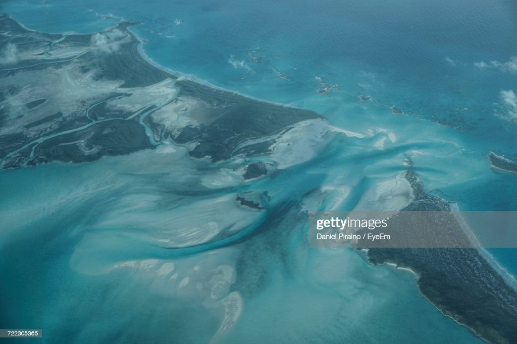 Aerial view of shroud cay in exuma stock photo getty images aerial view of shroud cay in exuma stock photo sciox Images
