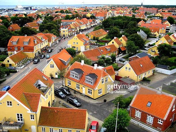 Aerial view of Skagen