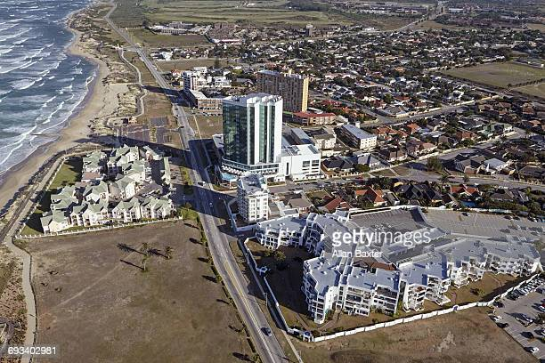 Aerial view of Southern skyline of Port Elizabeth