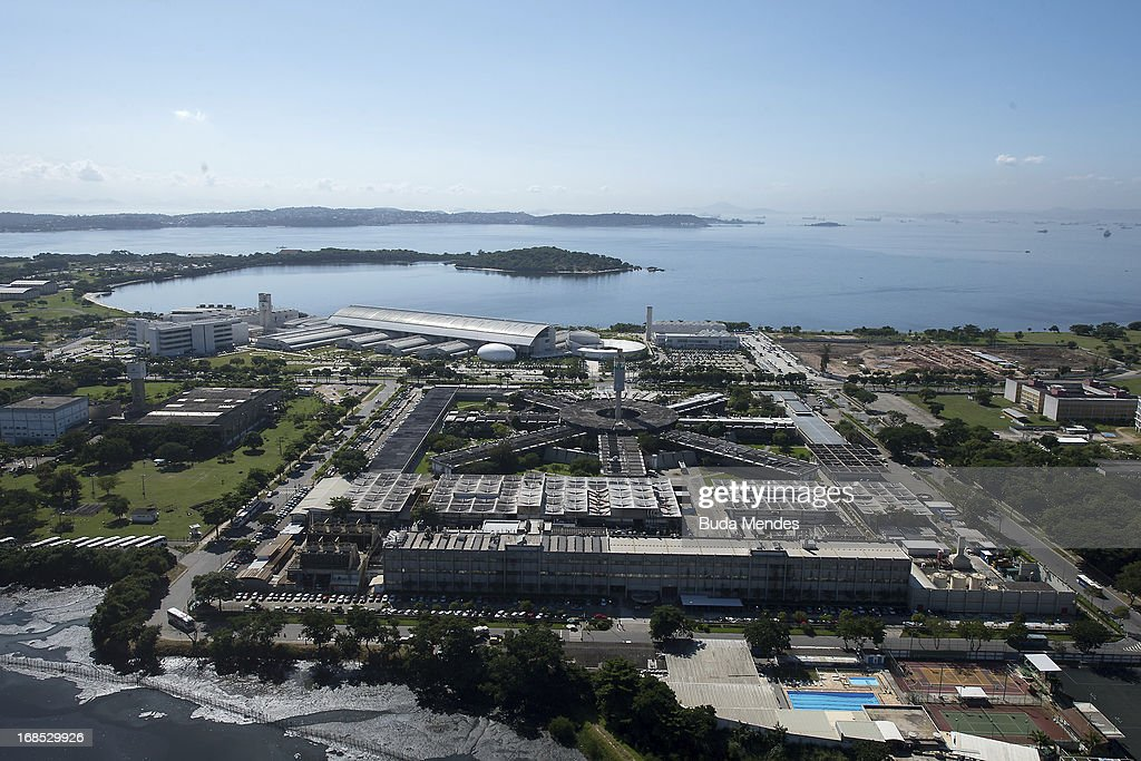 Aerial view of Station Petrobras on May 10, 2013 in Rio de Janeiro, Brazil.
