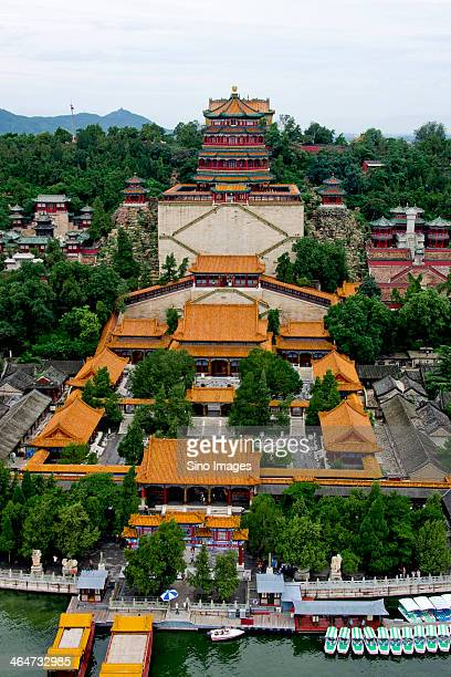 Aerial view of Summer Palace - Longevity Hill