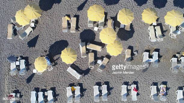 aerial view of summer sea beach - atlantic islands stock pictures, royalty-free photos & images