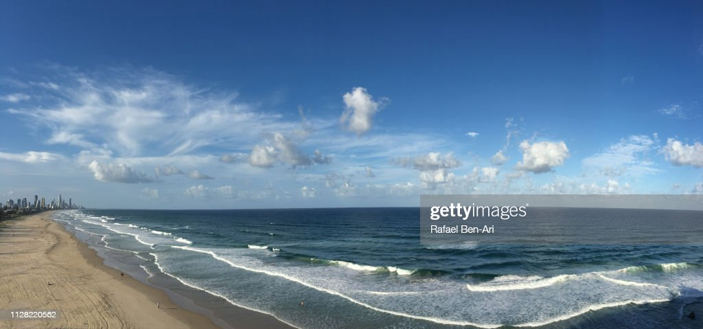 Aerial View of Surfers Paradise, Gold Coast, Australia : Stock Photo