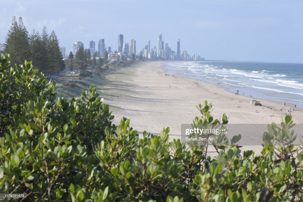 Aerial View of Surfers Paradise, Gold Coast, Australia : Stock Photo
