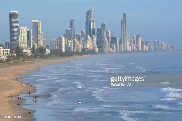 Aerial View of Surfers Paradise, Gold Coast, Australia