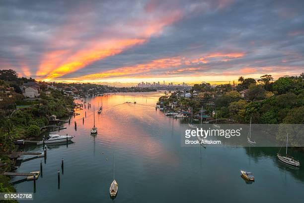 Aerial view of Sydney,Australia