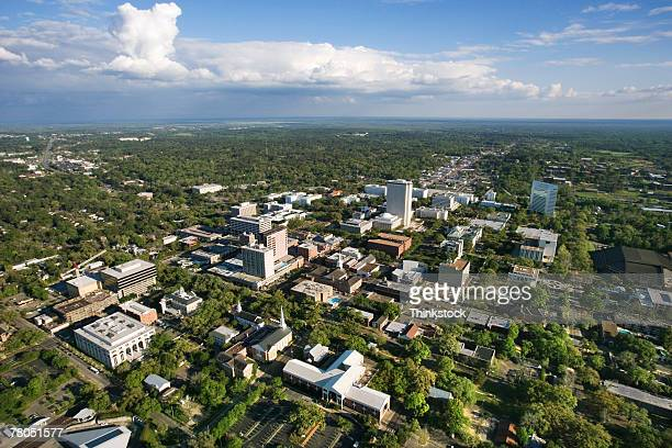 Aerial view of Tallahassee, Florida
