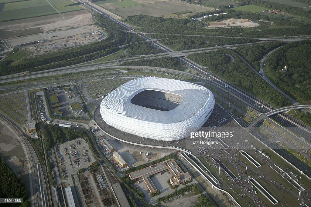 Birds Eye View Allianz Arena : Nachrichtenfoto