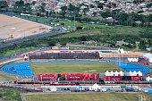 buenos aires argentina aerial view athletics