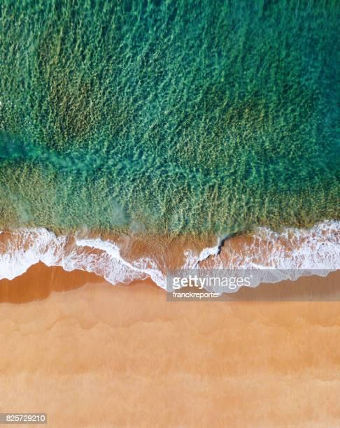 Luftbild von der australischen Bondi beach