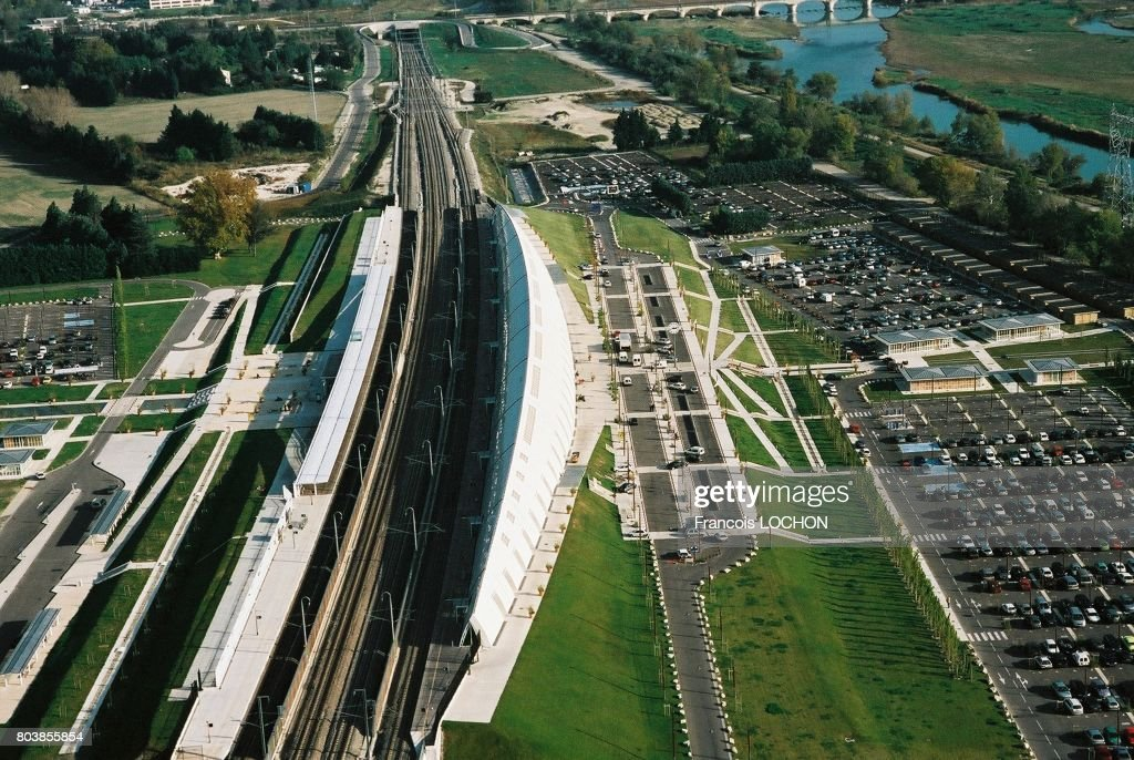 Aerial View Of The Avignon Tgv Station Circa 2000 In Avignon News Photo Getty Images