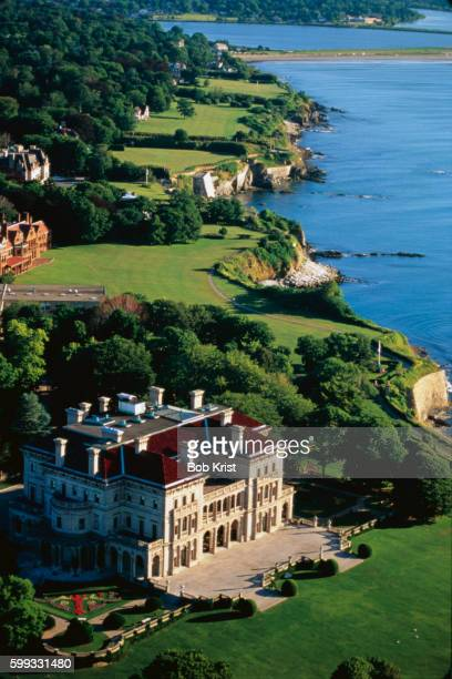 Aerial View of The Breakers and Coastline