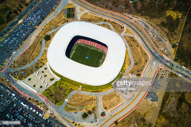 Aerial view of the Chivas Stadium prior the Final second leg match between Chivas and Tigres UANL as part of the Torneo Clausura 2017 Liga MX at...