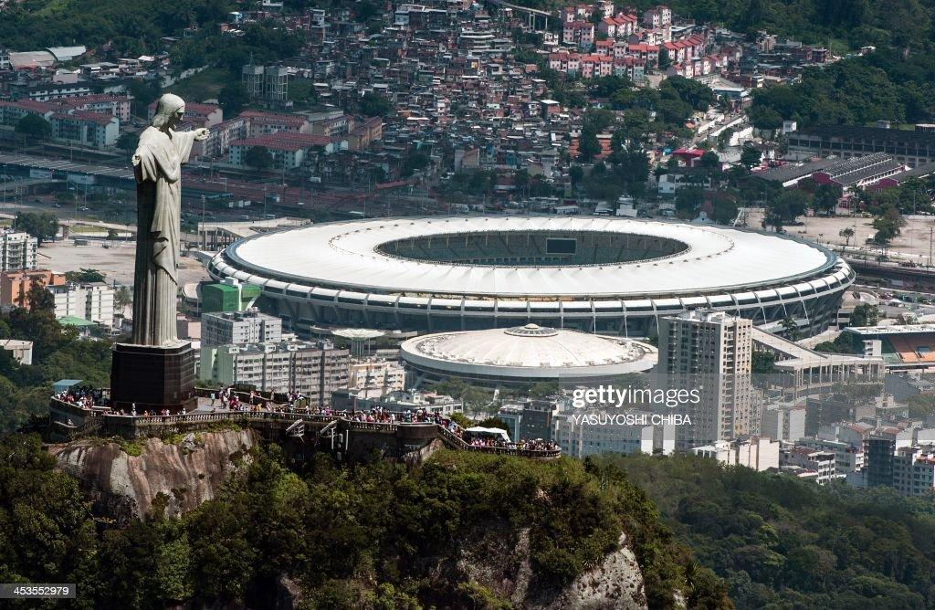 FBL-WC2014-OLY2016-MARACANA-STADIUM : News Photo
