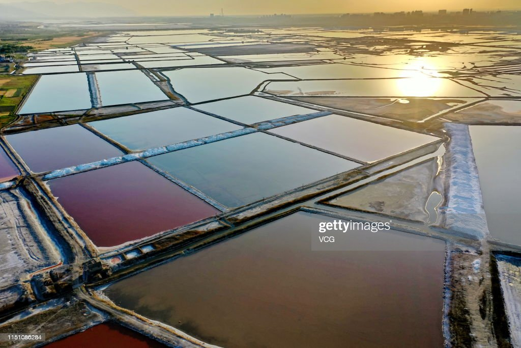 CHN: Colorful Salt Lake In Yuncheng