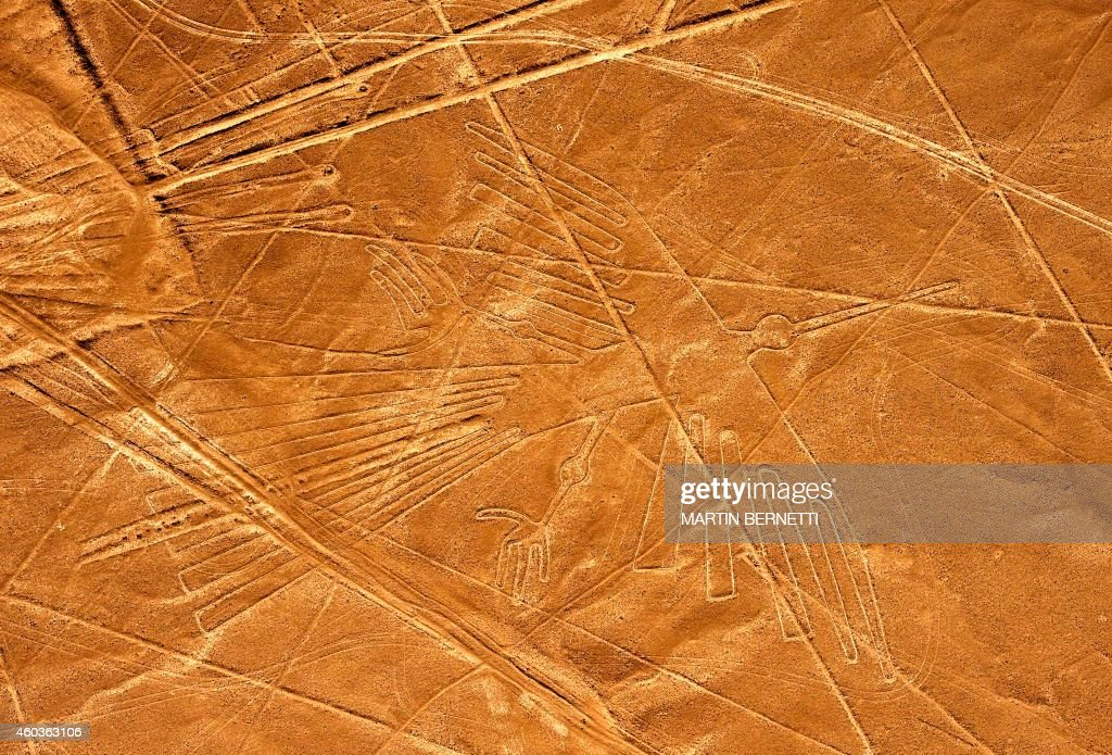 PERU-NAZCA LINES-CONDOR : News Photo
