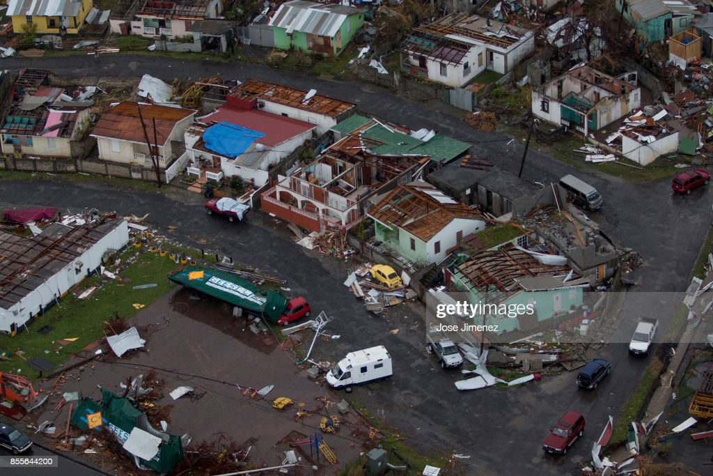 Dominica after Hurricane Maria : Nachrichtenfoto