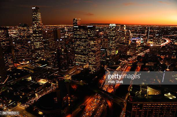 Aerial view of the downtown Los Angeles skyline The US Olympic Committee's snubbed the city of Los Angeles opting for Boston instead for the 2024...