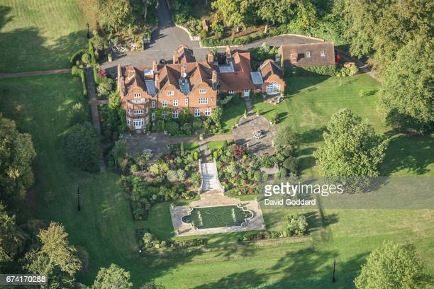 KINGDOM SEPTEMBER 23 Aerial View of the Grade 2 listed Welders House on September 23 2008 This Artisan Mannerist style house was built in 1899 for...