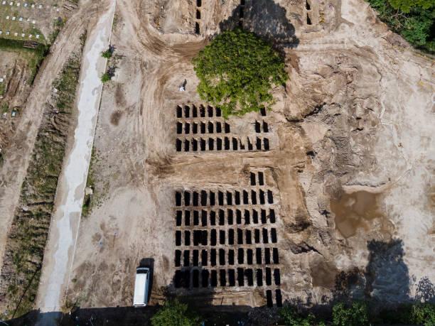 SLV: Aerial Views at Municipal Cemetery of San Salvador