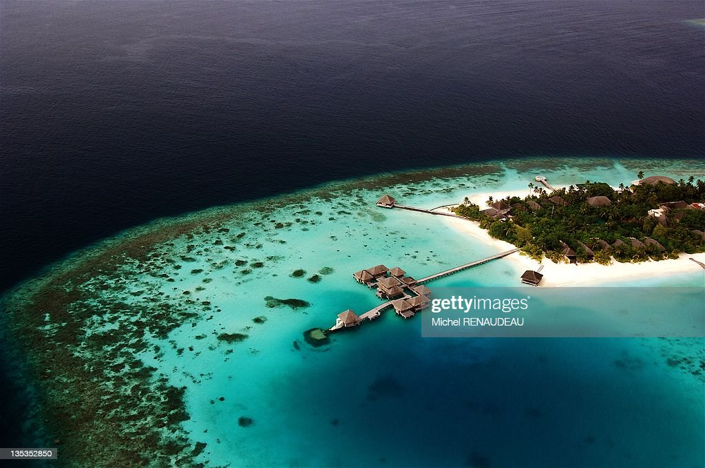 Hotel Huvafen Fushi Maldive Islands : News Photo