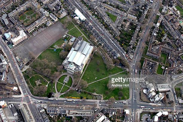 Aerial view of the Imperial War Museum