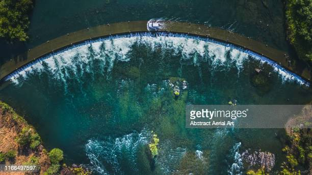 aerial view of the ivanhoe crossing, western australia - the hobbit: an unexpected journey stock pictures, royalty-free photos & images