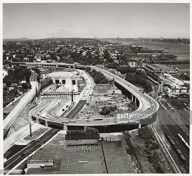 Aerial View of the Lincoln Tunnel Helix