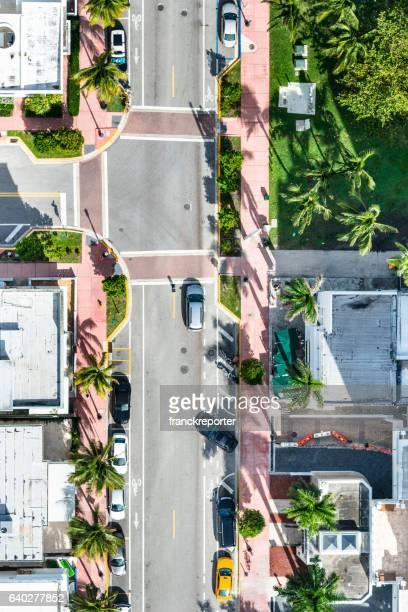Luftbild von der Miami Straßen