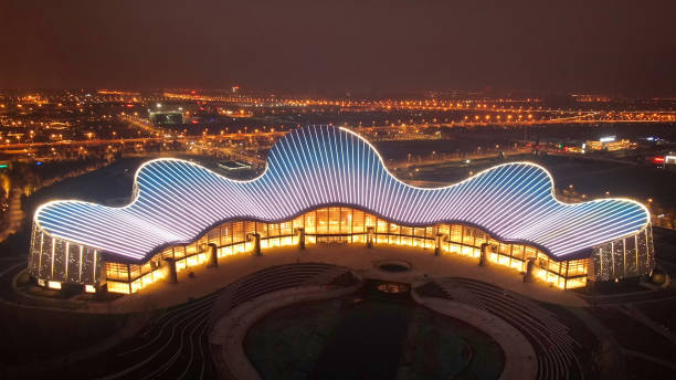 CHN: Nantong Grand Theatre Completes Lighting Tests