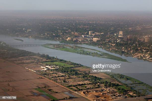 Aerial view of the Nigerian capital Niamey on December 03 in Niamey Niger Photo by Ute Grabowsky/Photothek via Getty Images
