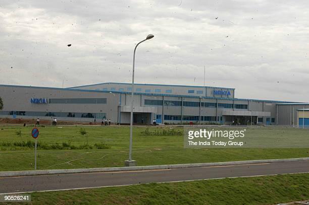 Aerial View of the Nokia Plant at Sriperumbudur in Tamil Nadu India