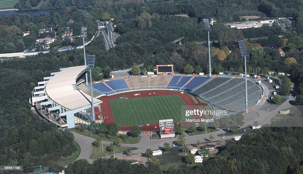 Aerial View Parkstadium : News Photo
