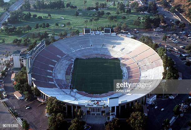 Aerial view of the Rose Bowl on August 22 1998