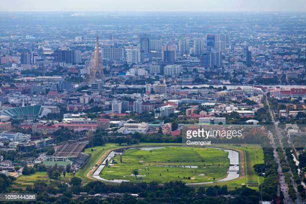 Aerial view of the Royal Turf Club of Thailand