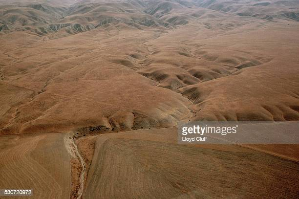 Aerial View of the San Andreas Fault