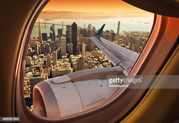 Aerial view of the San Francisco skyline