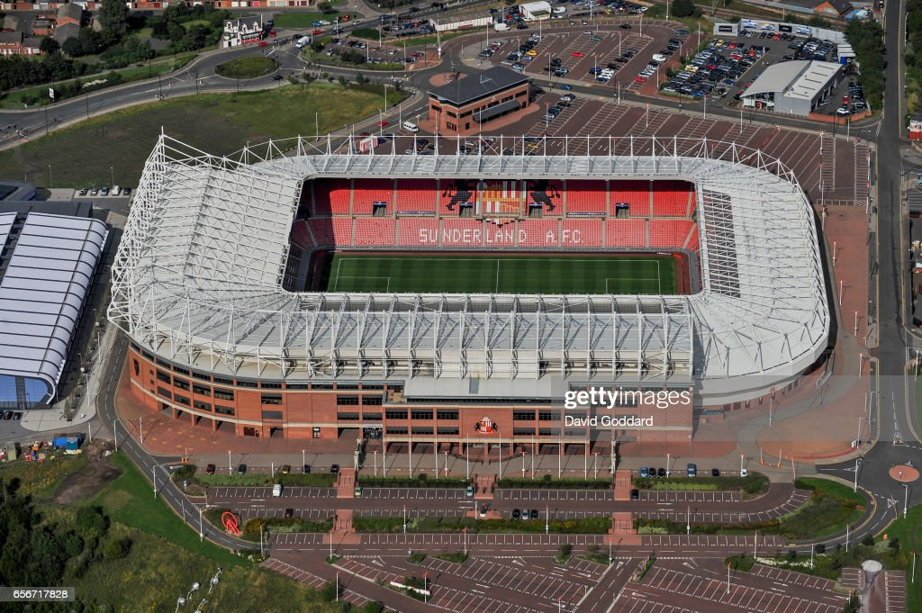 Aerial View Of The Stadium Of Light On The